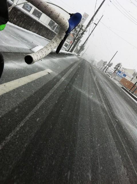 クロスチェック雪ライド