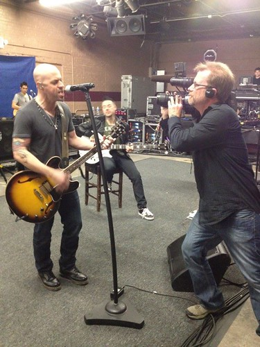 Daughtry Rehearsals 1