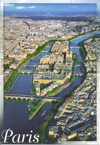 Paris France City View