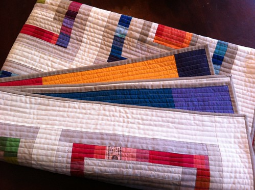 hot and cold, quilted and bound