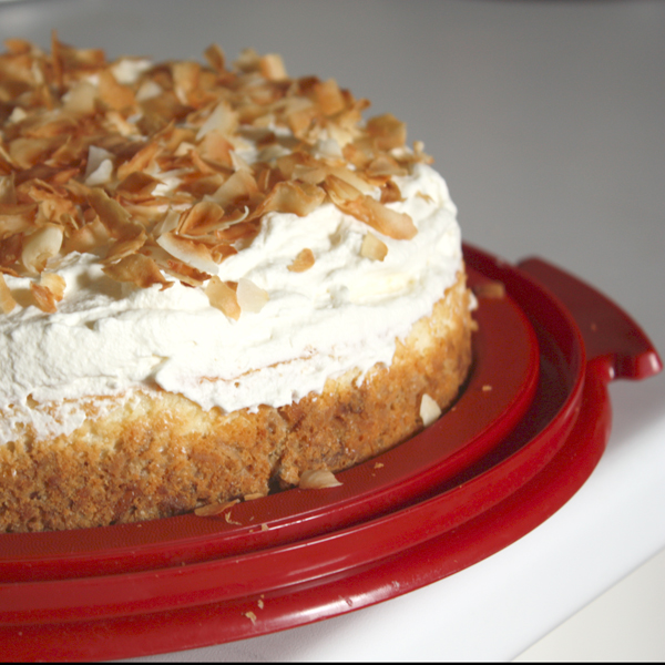 Triple Coconut Cheesecake: Final
