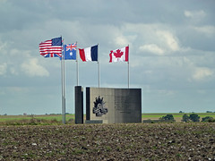 Australian Corps Memorial, Le Hamel - Photo of Framerville-Rainecourt