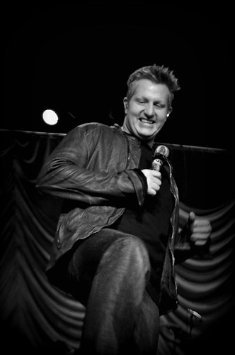 Gary LeVox of Rascal Flatts at BlissDom