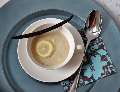 parsnip soup with vanilla