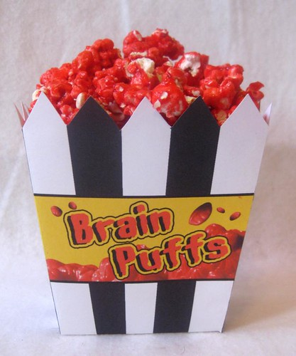 ghoul's day: brain puffs