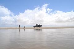 A la platja