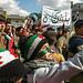 Protest in Binnish, Idlib