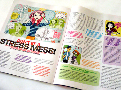 Illustrations in GL Magazine