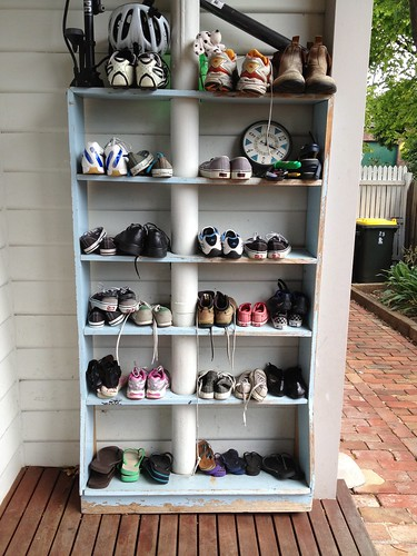 Decluttering - Shoes after