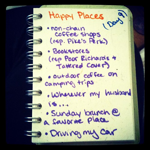 #30lists #day9 happy places
