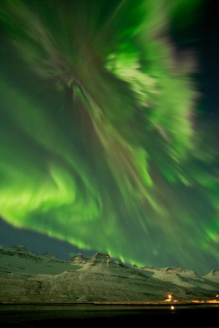 Norðurljós 08.03.2012