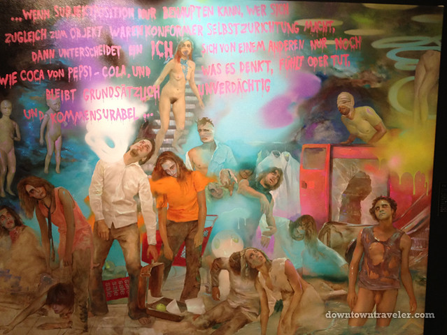 Volta NY Art Show_Asgar Gabriel zombie painting