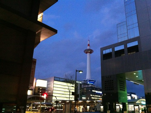 2012.3.11 kyoto tower