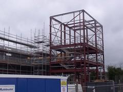 Travelodge Tamworth construction site