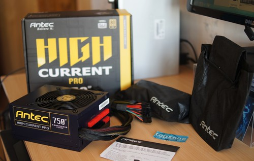 Antec HCP 750 High Current Pro PC maitinimo blokas