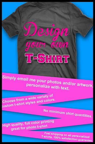 Design Your Own Unique T-shirt@RM60
