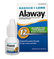 Bausch + Lomb Alaway Antihistamine Eye Drops Coupon