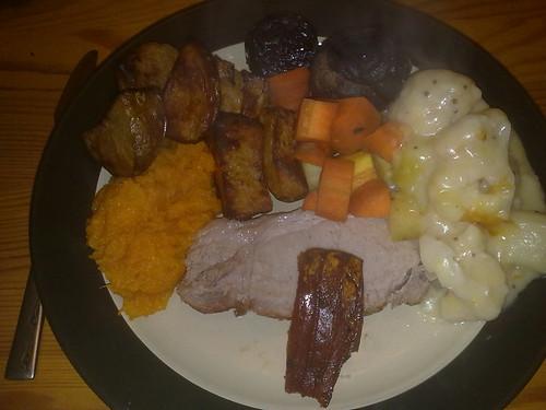 Healthy Roast Dinner