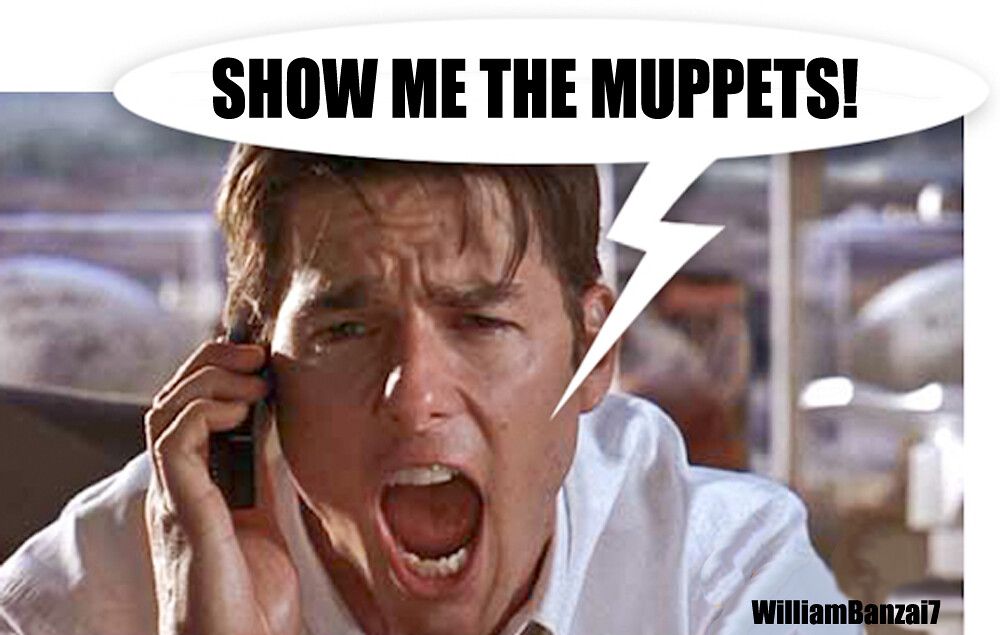 SHOW ME THE MUPPETS