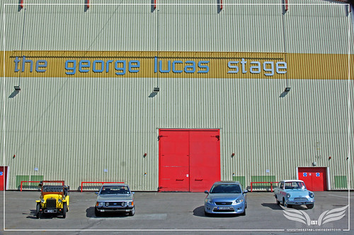 The Establishing Shot: Ford Centenary Tour at Elstree Studios on The George Lucas Stage by Craig Grobler