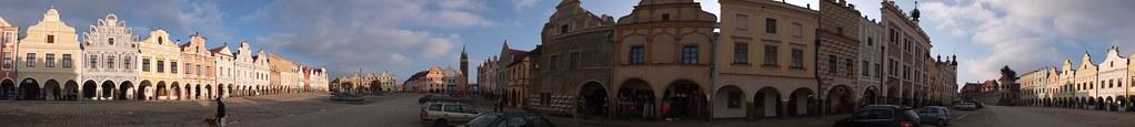特奇(Telč)小鎮 360° 全景圖