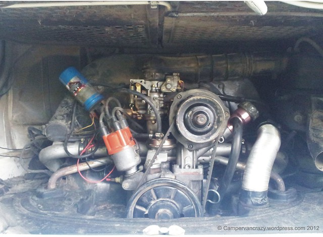 Air Cooled 1600 Cc Vw Flat Four Boxer Engine Flickr