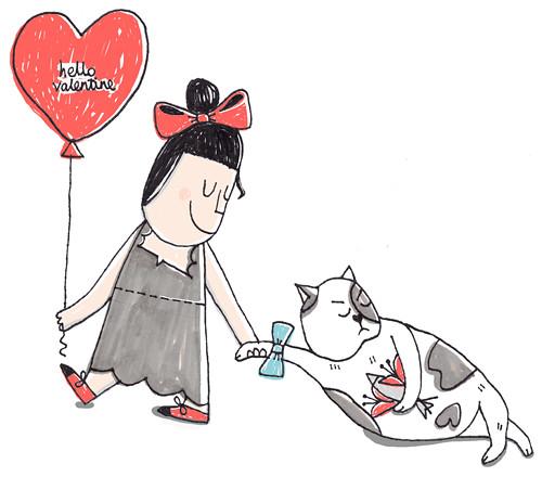 Hello Valentine by doublexuan