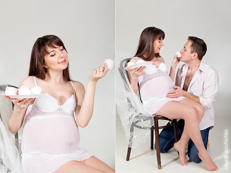 Фотосессия беременности. Аня