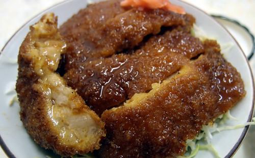 宇佐美食堂のソースカツ丼(撮影者@k_arts)
