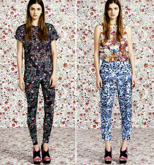 MARYKATRANTZOUFORTOPSHOPMARYKPRINTDRESSESPANTSFLORALSBOWLSKINNYMIXEDPRINTS2