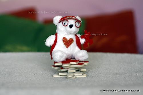 Manualidades: hacer un oso San Valentín para regalar