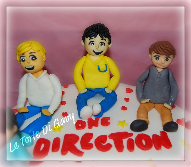 Torta  One Direction   Gruppo Musicale _  One Direction  Cake  Boy