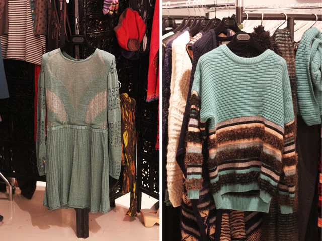 dagmar knitted dress and jumper