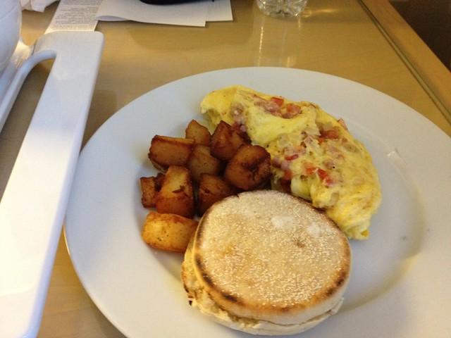 Day 2 - Room Service Breakfast