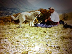 Guido and I in the Apennines