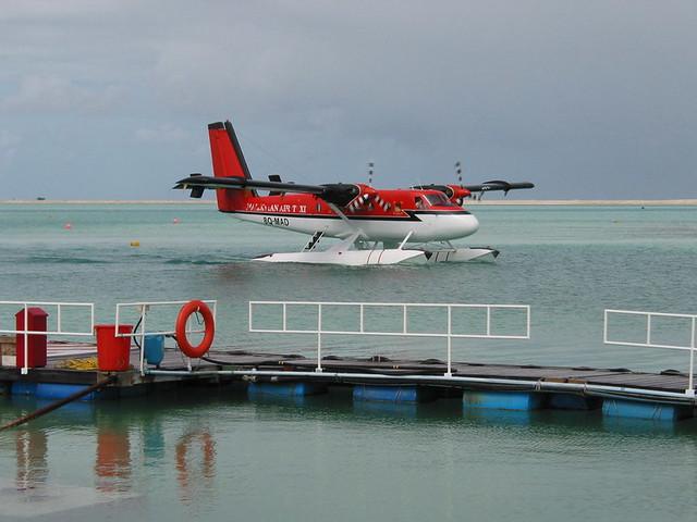 Hidroavião Maldivas 03