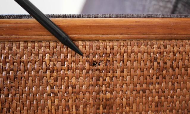 how to clean vintage tweed sofa