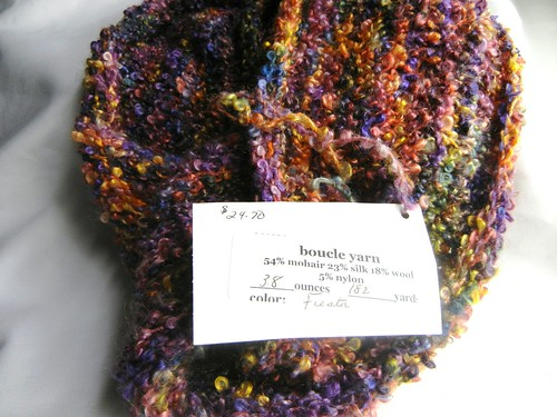 Kid Hollow Boucle Yarn