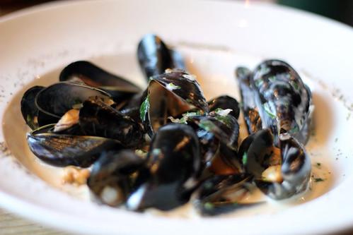 Mussels at Bills