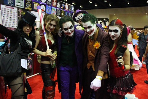 Batman gang - MegaCon 2012