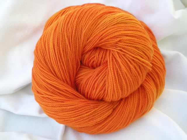 Baah Yarns La Jolla California Poppy  W-002