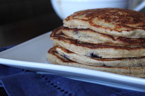 Blueberry Yogurt Multigrain Pancakes | Spice Is Nice