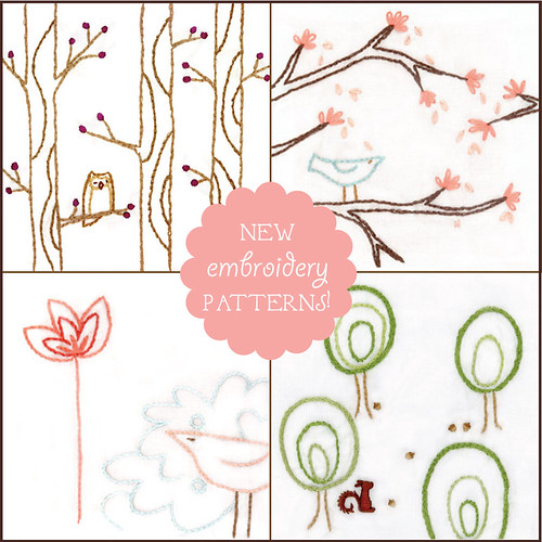 more new embroidery patterns!