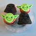Cupcakes de Yoda y Darth Vader