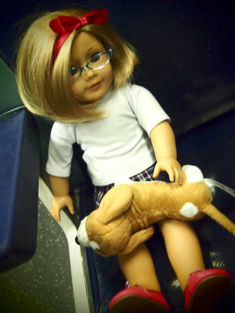 American Doll on Metro North