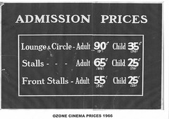 Ozone Admission 1966
