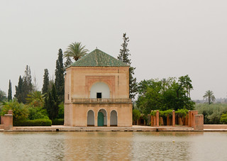 Jardin Menara pavillion, Marrakech