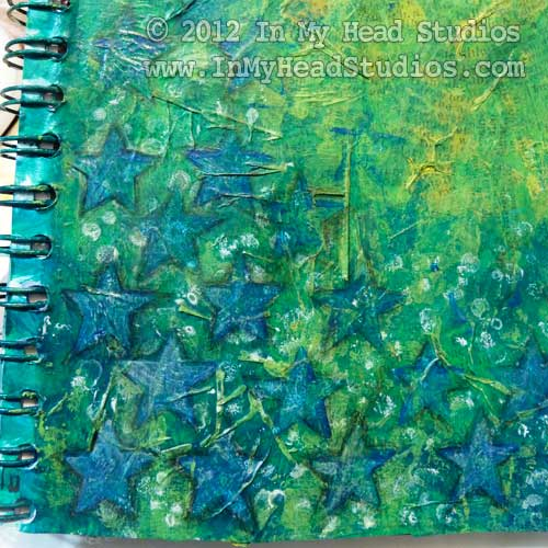 Blue Green Stars Page