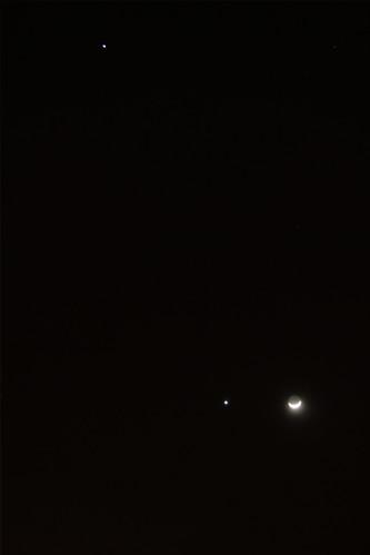 Conjunción Luna-Venus 2012