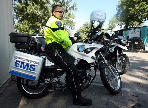 Austin Texas motorcycle-based EMS services
